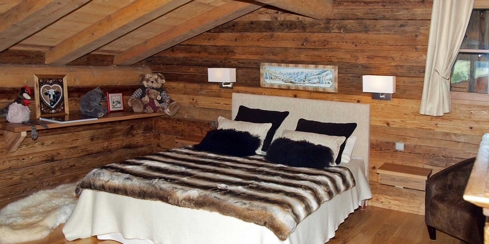 interieur chalet savoyard 13 denis goy. Black Bedroom Furniture Sets. Home Design Ideas