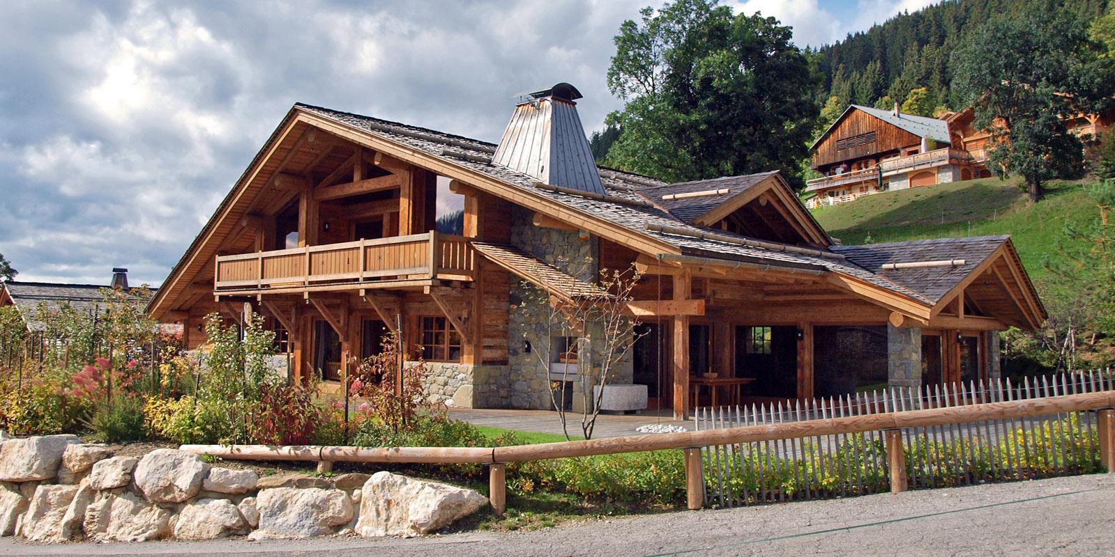 Architecte Construction Chalet La Clusaz Haute Savoie Denis Goy